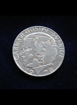 Švedija, 1 krona 1978m