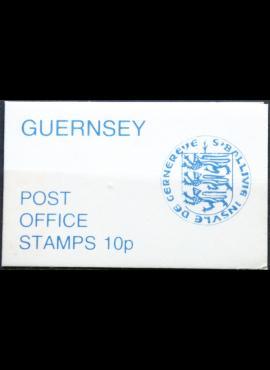 Gernsis, kišeninė pašto ženklų knygelė ScNr 96B MNH**