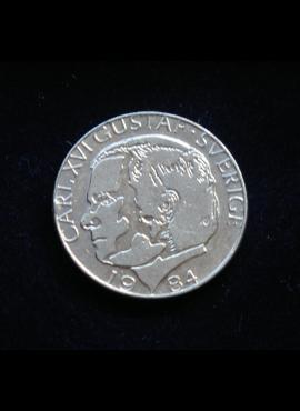 Švedija, 1 krona 1984m