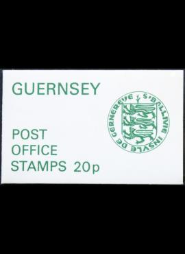 Gernsis, kišeninė pašto ženklų knygelė ScNr 96A MNH**