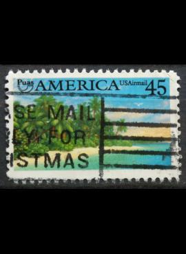JAV, oro paštas ScNr C127 Used(O)