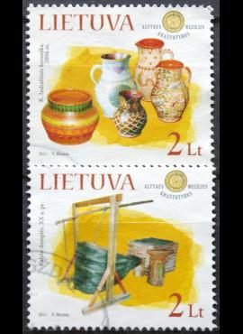 Lietuva, pilna serija MiNr 1070-1071 Used(O) V