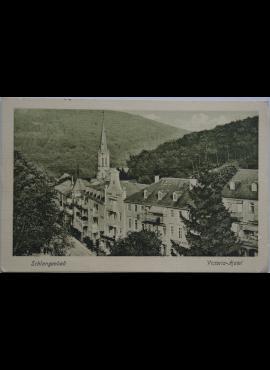 Vokietijos Reichas, Šlangenbadas 1913m atvirlaiškis