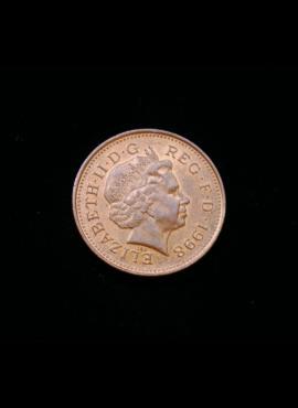 Didžioji Britanija, 1 pensas 1998m