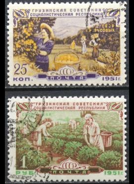 Rusija, TSRS ScNr 1587, 1589 Used(O) V