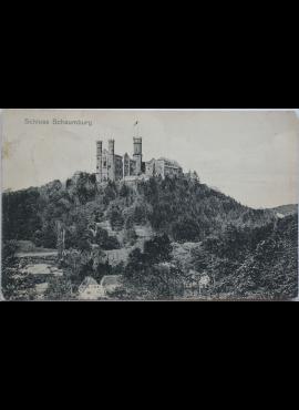 Vokietijos Reichas, Šaumburgas 1909m atvirlaiškis