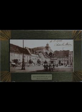 Vokietijos Reichas, Weissenfelsas 1906m atvirlaiškis
