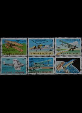 San Tomė ir Prinsipė, pilna serija ScNr 528-533 Used(O)