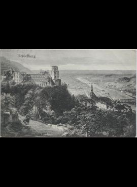 Vokietijos Reichas, Heidelbergas 1910m atvirlaiškis