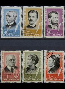 Rumunija, pilna serija ScNr 1738-1743 Used(O)