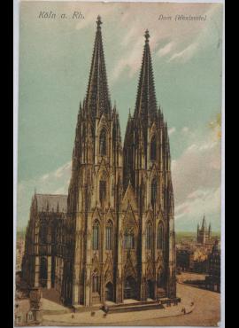 Vokietijos Reichas, Kelnas 1907m atvirlaiškis