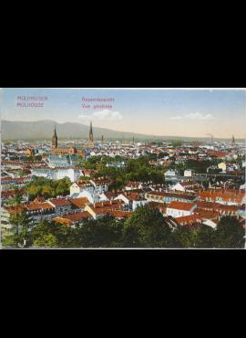 Vokietijos Reichas Miulhauzenas 1914m atvirlaiškis
