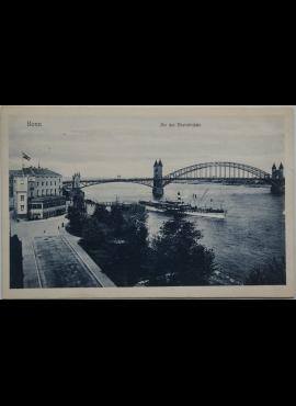 Vokietijos Reichas Bona 1908m atvirlaiškis