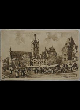 Vokietijos Reichas Trieras 1912m atvirlaiškis