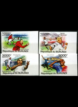Burundis, pilna serija MiNr 2138-2141 MNH** V