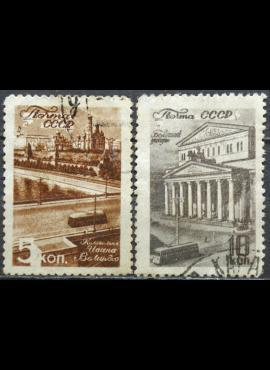 Rusija, TSRS ScNr 1059-1060 Used(O) V