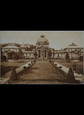 Vokietijos Reichas Bad Homburgas 1909m atvirlaiškis