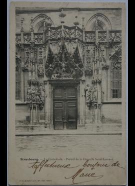 Vokietijos Reichas, Strazbūras 1903m atvirlaiškis