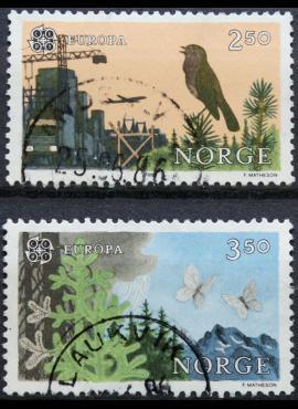 Norvegija, pilna serija ScNr 892-893 Used(O) G