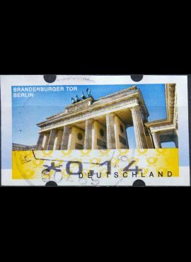 Vokietija, pašto automatų ženklas MiNr 6 Used(O)