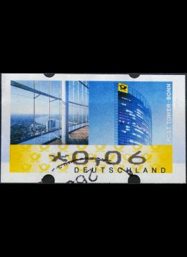 Vokietija, pašto automatų ženklas MiNr 7 Used(O)