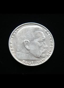 Vokietijos Reichas, SIDABRINĖS 2 markės 1937m-D