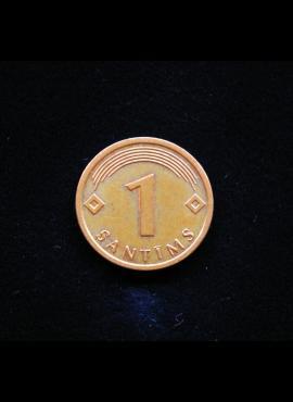 Latvija, 1 santimas 2008m
