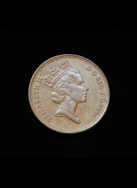 Didžioji Britanija, 2 pensai 1996m