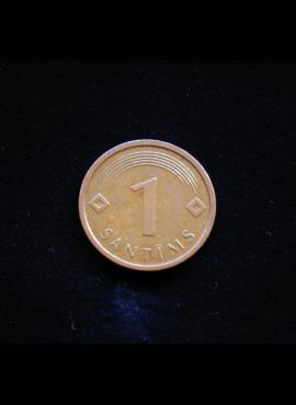 Latvija, 1 santimas 2005m