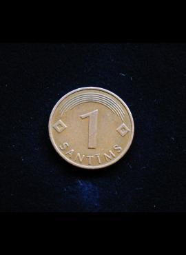 Latvija, 1 santimas 2003m