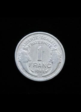 Prancūzija, 1 frankas, 1941m