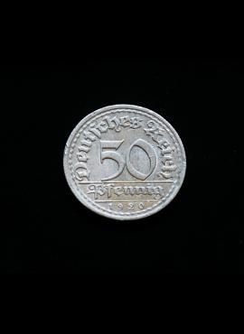 Veimaro Respublika, 50 pfeningių 1920m-E