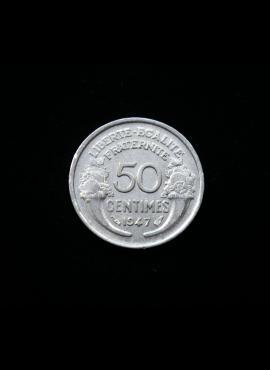 Prancūzija, 50 santimų 1947m