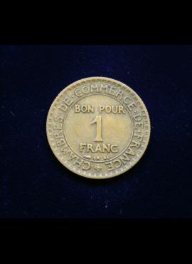 Prancūzija, 1 frankas 1922m