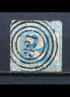Senoji Vokietija, Thurn und Taxis, 1865m, MiNr 39 Used(O) V