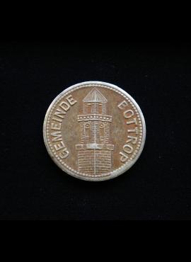 Bottrop'o kriegsgeldai, 1917m 50 pfenigų
