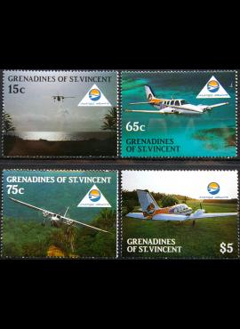 Sent Vinsentas ir Grenadinai, pilna serija MiNr 582-585 MNH** V
