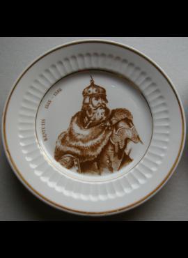 Suvenyrinė lėkštė su LDK kunigaikščiu Kęstučiu
