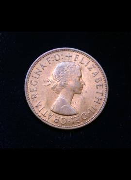 Didžioji Britanija, 1 pensas 1967m