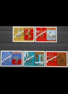 Rusija, TSRS ScNr B107-B109, B111-B112 MNH**