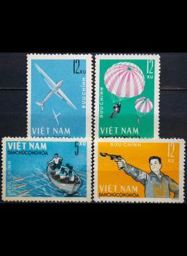 Šiaurės Vietnamas, pilna serija ScNr 320-323 MNH**