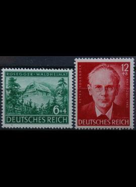 Vokietijos Reichas, pilna serija, MiNr 855-856 MH*