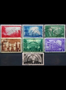 Rusija, TSRS, pilna serija ScNr 1481-1487 Used(O) V