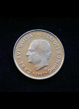 Švedija, 1 krona 2007m