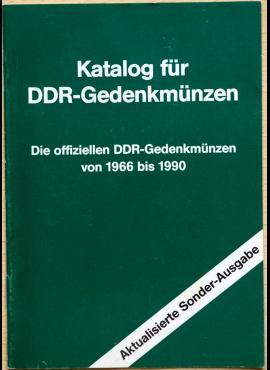 Vokietijos Demokratinės Respublikos 1966-1990 m. proginių monetų katalogas