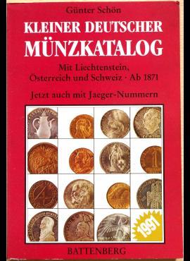 Battenberg mažasis vokiškų monetų katalogas 1991