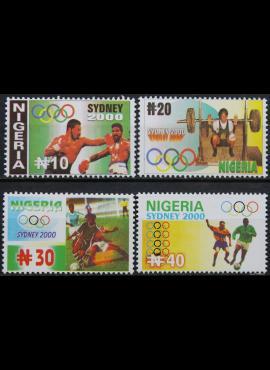 Nigerija, pilna serija ScNr 713-716 MNH** V