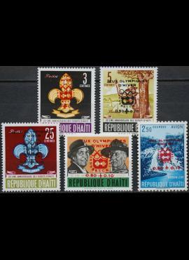 Haitis, pilna serija ScNr B31-B34 MNH** V