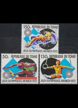 Čadas, pilna serija ScNr 260-262 MNH** V