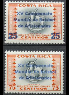 Kosta Rika, pilna serija ScNr C314-C315 MNH** V